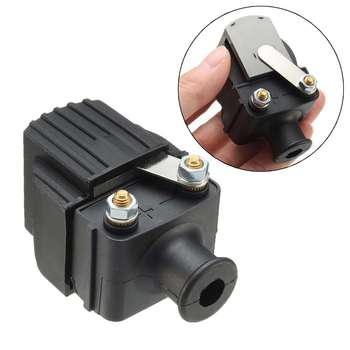 Autoleader Replacement Outboard 339-832757A4 Ignition Coil Rubber+Metal For Mercury&Mariner 6-225HP Black 7x4cm Ignition System