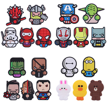 Cartoon Air Freshener Styling perfumes The Avengers Marvel Style Star Wars Iron Man Captain Auto Air Condition Vent Outlet Clip