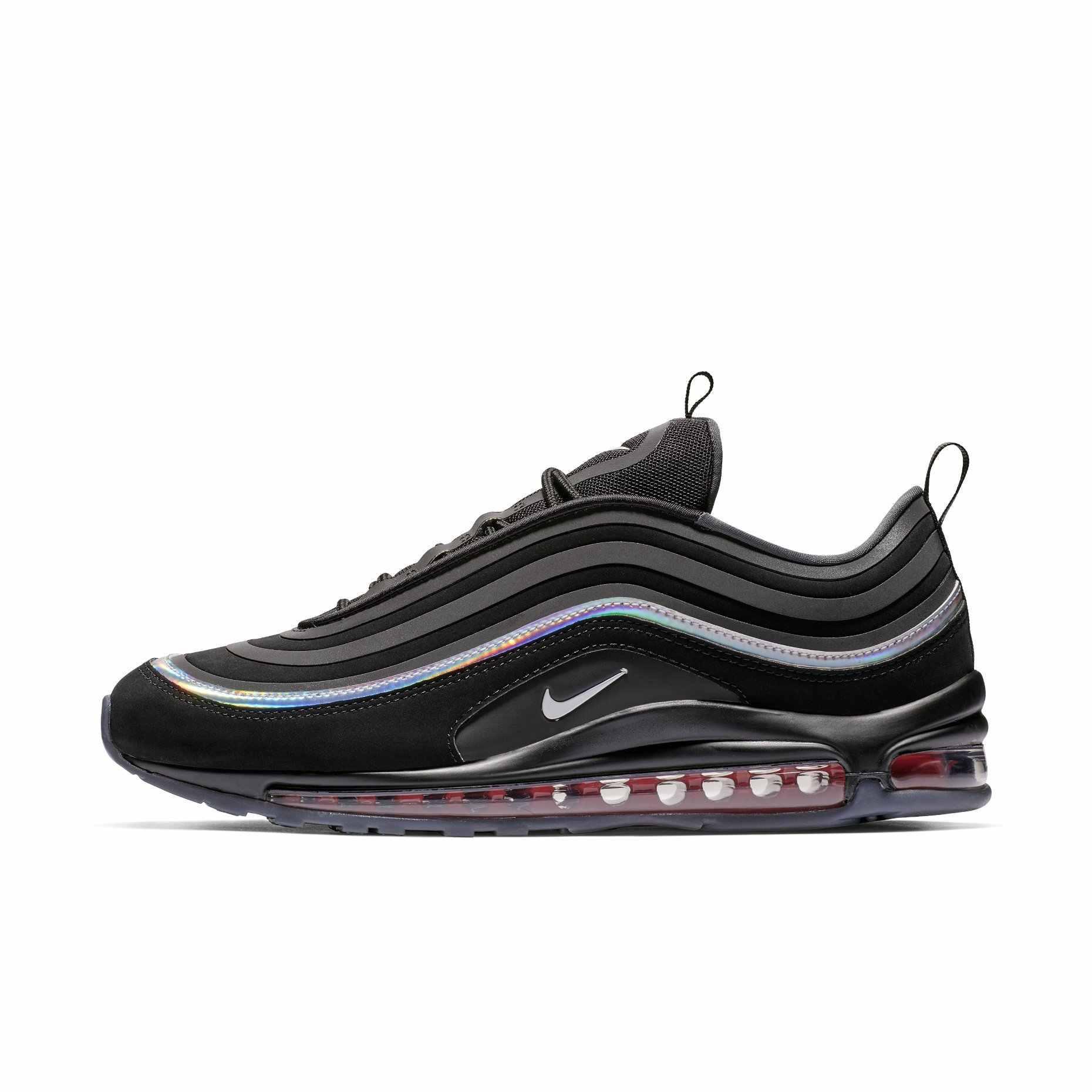 NIKE AIR MAX 97 UL '17 ультрановые мужские кроссовки для бега удобные дышащие кроссовки для отдыха # BV6666-016/106