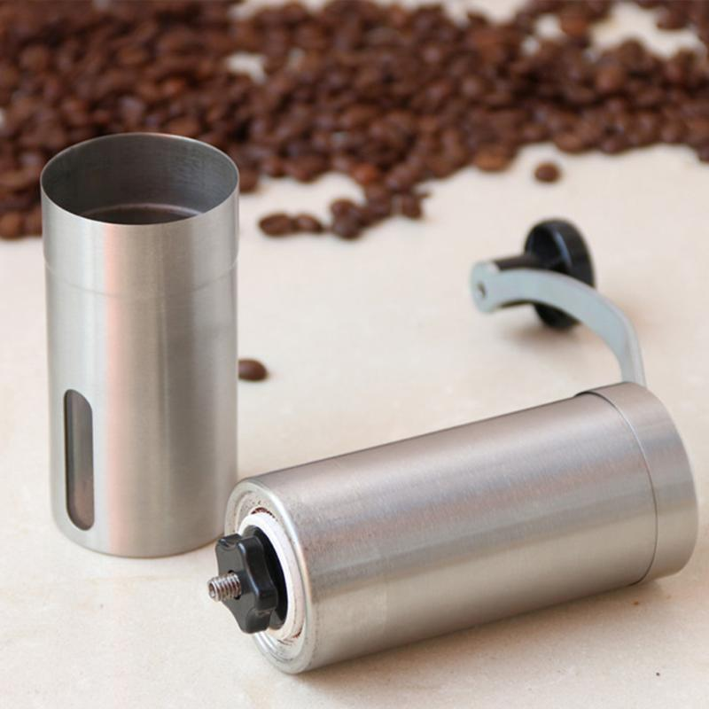 ¥Ultimate SaleMill Grinders Burr Coffee-Bean Crocus Hand-Manual Mini Kitchen-Tool Stainless-Steel