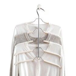 5 Layers Clothing Hangers Organizer Multifunctional Home Wardrobe Shirt Suit Coat Storage Organization Rack Holders Accessories
