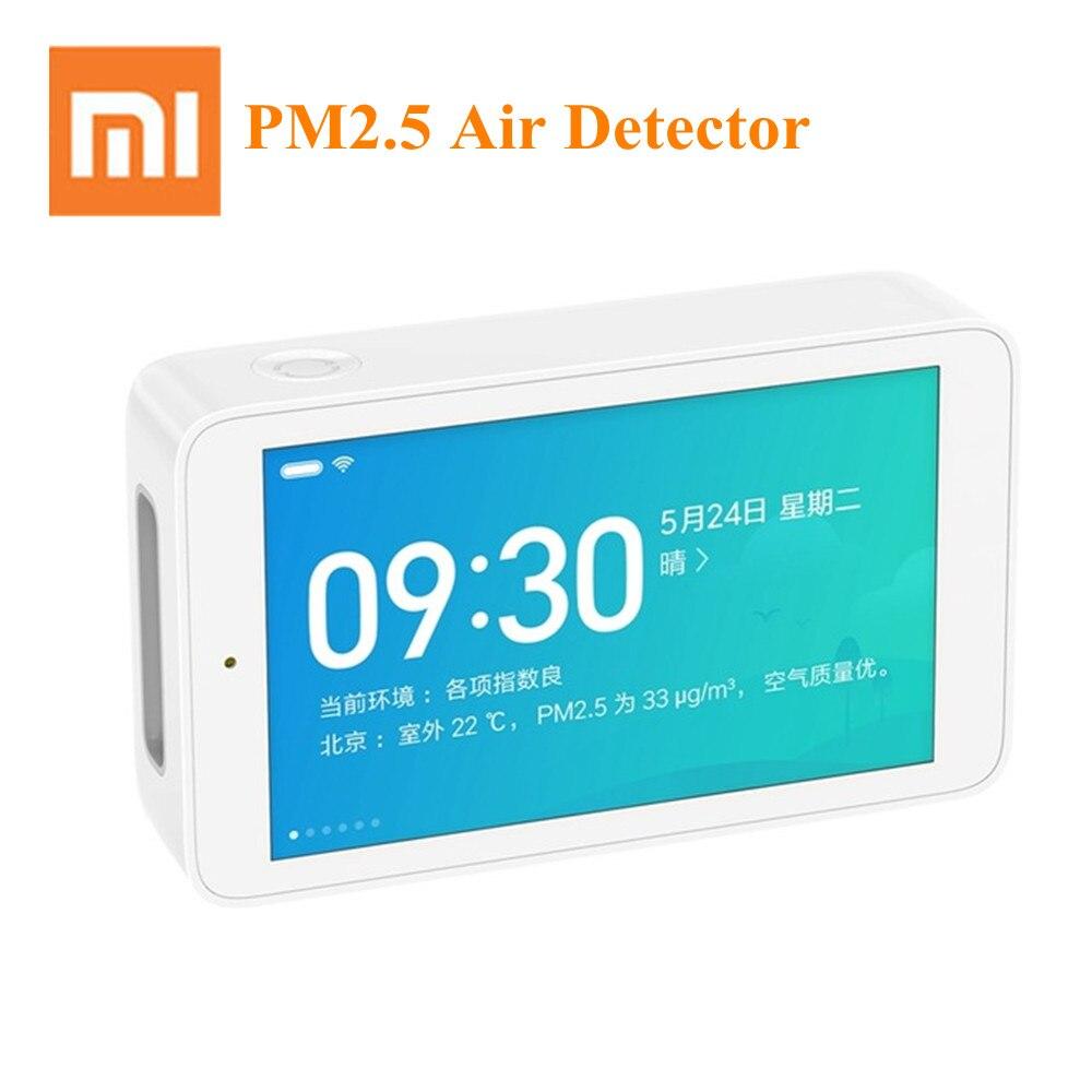 Xiaomi Tela Sensível Ao Toque de Alta-Precisão de Detecção De Detector De Ar 3.97 Polegada Mijia USB Interface de Monitoramento Remoto PM2.5 CO2a Sensor de Umidade