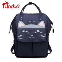 Cute Cartoon Cat Ear Backpack Girl Schoolbag for Teenage Waterproof Women Back Pack Preppy Backpack Famale Teen Bagpack 2019 new