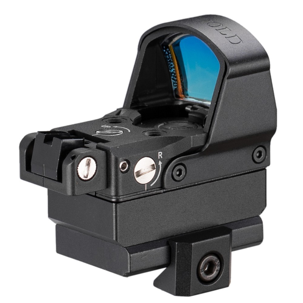 Image 5 - Tactical DP Pro Style Red Dot Reflex Sight Scope With Picatinny Mounts For Pistol Airsoft 1911 1913-in Riflescopes from Sports & Entertainment