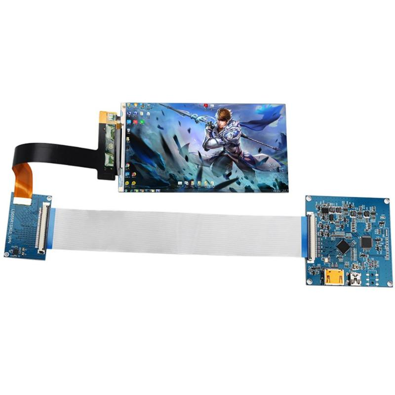 LS055R1SX03 5.5 inch 2k LCD module 2560*1440 LCD screen display with HDMI to MIPI controller board for WANHAO D7 replacement
