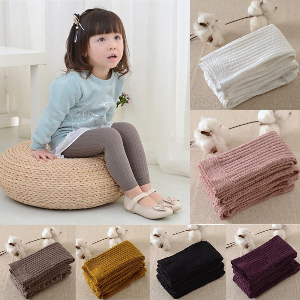Girls Baby Infant Toddler Warm Pantyhose Stocking Baby Kids Girls Leggings Cotton Warm Children Girl Leggings 0-5Y