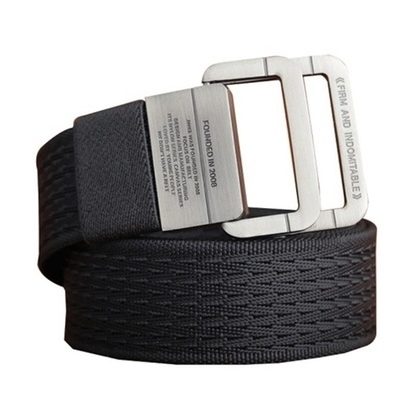 Men's High Quality Military Tactical Double Ring Buckle Belt