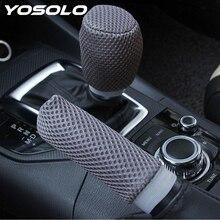 YOSOLO 2pcs/set Car Handbrake Grips Car-styling Hand Brake C