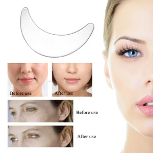 Image 3 - Anti Wrinkle Facial Pad Set Reusable Medical Grade Silicone Nasolabial Folds Anti aging Mask Prevent Face Wrinkle