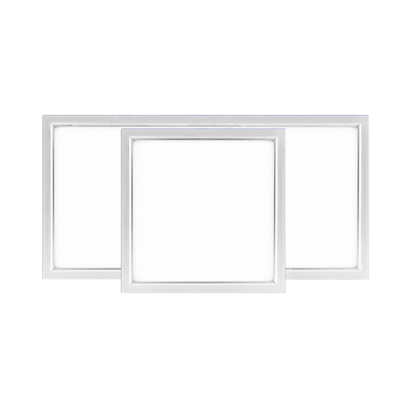 Silver Ultra thin Integrated Ceiling Flat led panel ceiling lamps300*300 School/Hospital/Supermarket/Office/ceilinglight