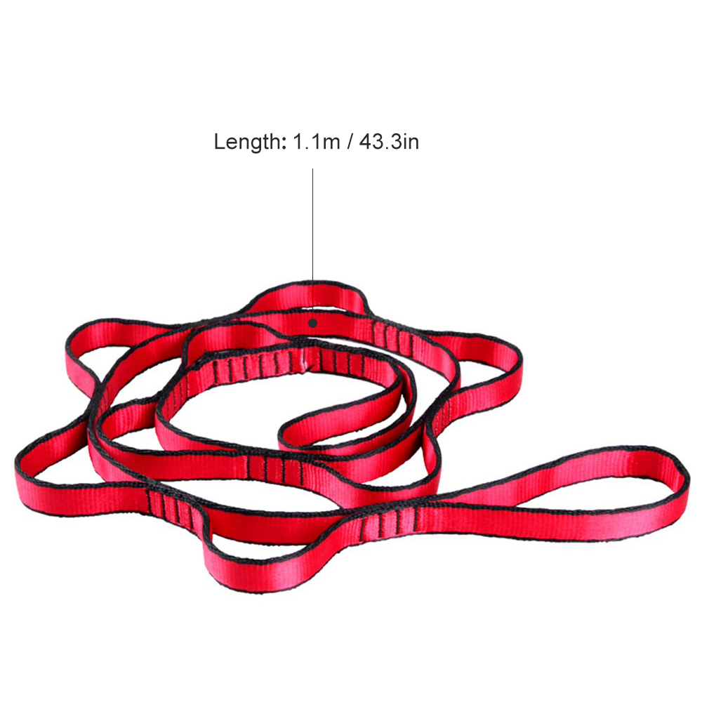 Yoga Dmar 2m Chrysanthemum Rope Fitness Exciser Jump Stretch Yoga Belt For Anti-gravity Aerial Yoga Hammock Home Gym Sports & Entertainment