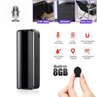 Q70 8GB Super Long Standby Recording Pen Digital Voice Recorder Professional Mini HD Noise Reduction Wall Listener Waterproof