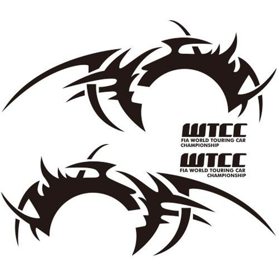 2Pcs Car Wheel eyebrow flame Sticker Car Side Body DIY Waterproof Vinyl Decal Sports Racing Race in Car Stickers from Automobiles Motorcycles