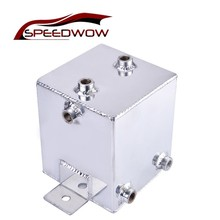 SPEEDWOW Racing Car Universal 2L Water Catch Can Fuel Tank 6 Ports Oil Catch Can Oil Catch Can Breather Tank все цены