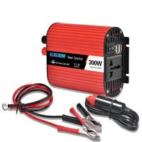 DFRX 300W/500W/600W/1000W Car Power Inverter Converter DC 12V to AC 220V Charger Transformer Vehicle Sine Wave Power Adapter