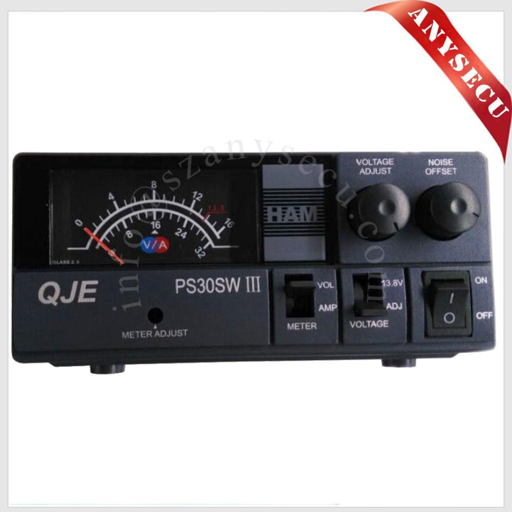 יעילות גבוהה כוח PS30SW III QJE 13.8V DC 110 V עד 220 - ציוד תקשורת