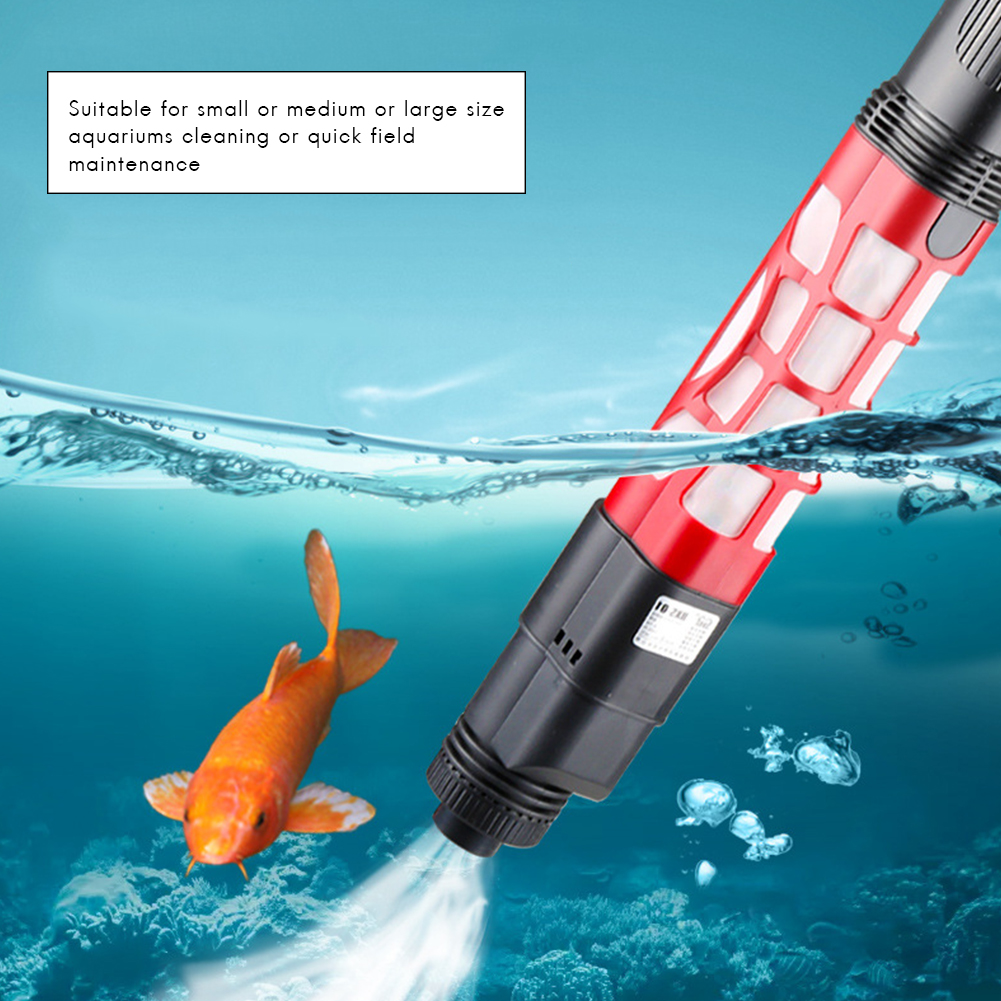 Aquarium Automatic Water Changer Gravel Cleaner Electric Sand Suction Pump Tool Fish Feces Siphon Vacuum Pump Clearer With Hose