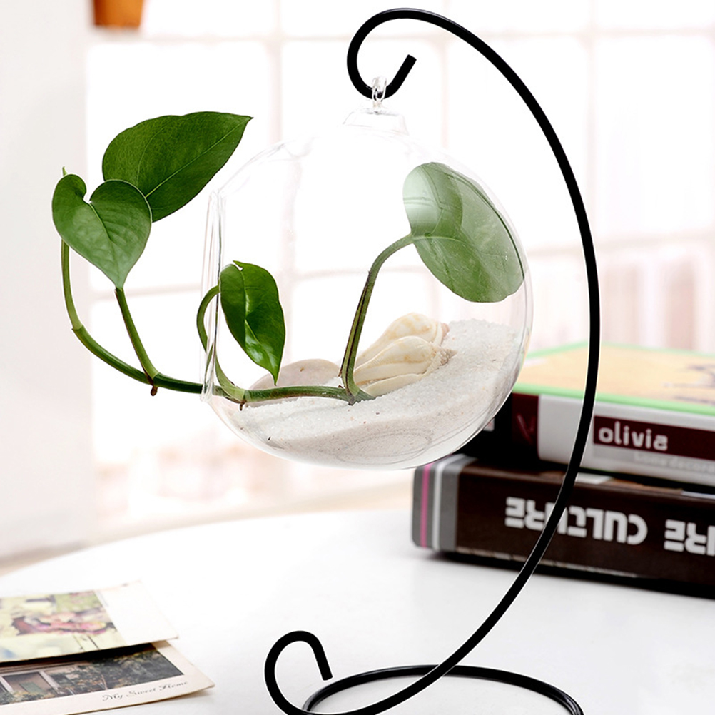 Ornament Display Stand Iron Hanging Stand Rack Holder For Hanging Glass Globe Air Plant Terrarium Christmas Wedding Decoration