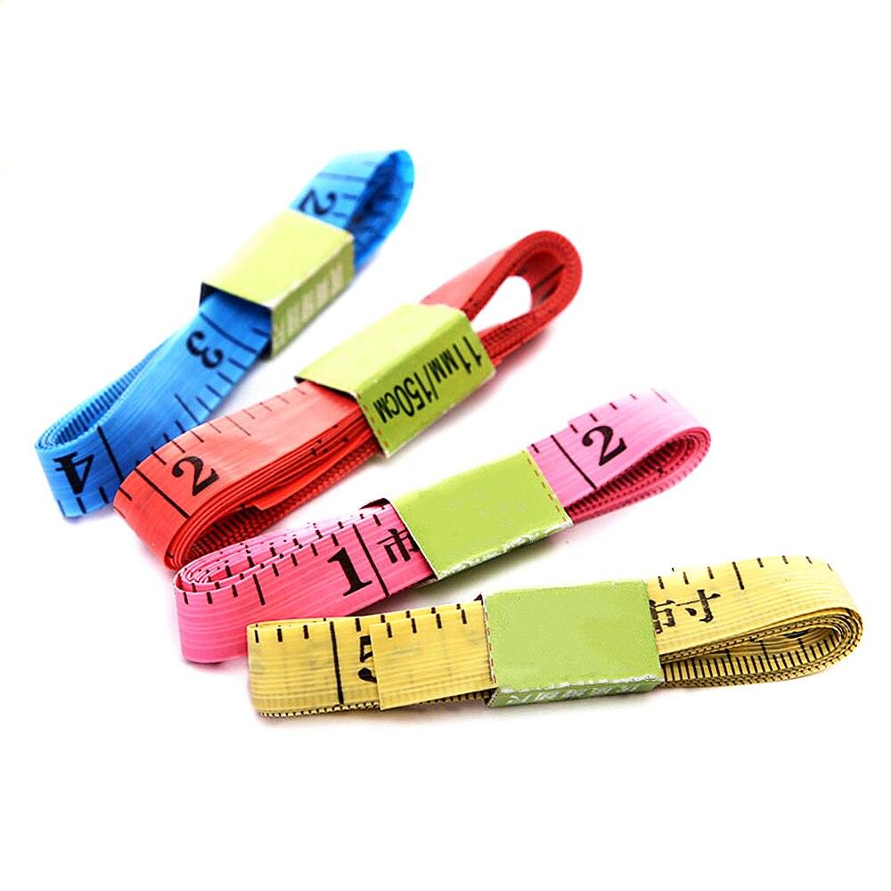 Горячая рулетка для измерения размеров тела швейная портновская рулетка Мягкая 1,5 м швейная линейка метр швейная измерительная лента случа...