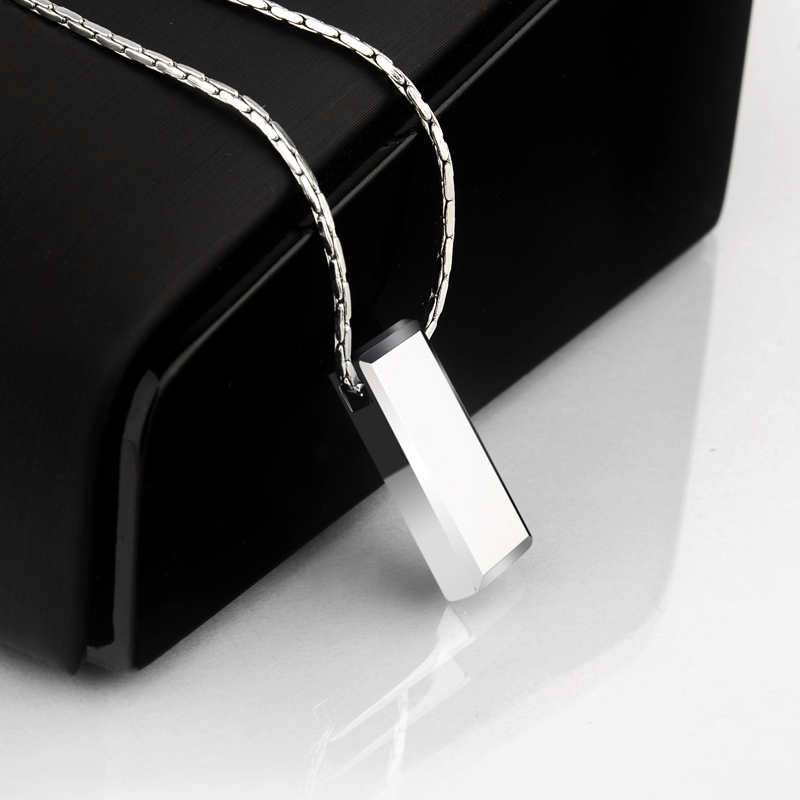 Image 3 - Hot Selling Casual/Sporty High Polished Tungsten Pendants Rectangle Shape for Man Woman Can Laser Engraving Picture/ Symbols-in Pendants from Jewelry & Accessories