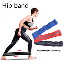 New Fitness Yoga Band Hip Circle Loop Endurance Exercise For Legs Thigh Buttocks No-slip Elastic Many Exercises