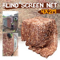 4x2m Army Camo Hunting Shooting Blind Screen Net Hide Camp Cover Net Outdoor Top Camouflage Net Outdoor Camping Hunting Network|Blind & Tree Stand| |  -