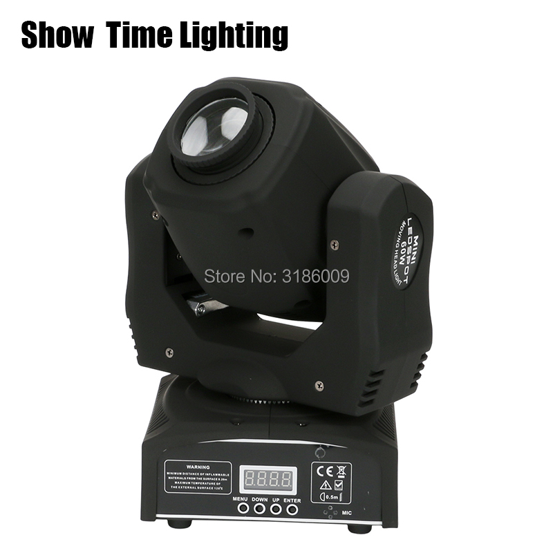 Show Time 60W Mini LED gobo Moving Head 8 kinds colors images Spot Light Club DJ Stage Lighting Party Disco Moving heads Light in Stage Lighting Effect from Lights Lighting
