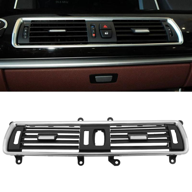 Car Accessories Front Center Console AC Fresh Air Outlet Grille Cover for BMW 5 Series GT F07 Car Supplies