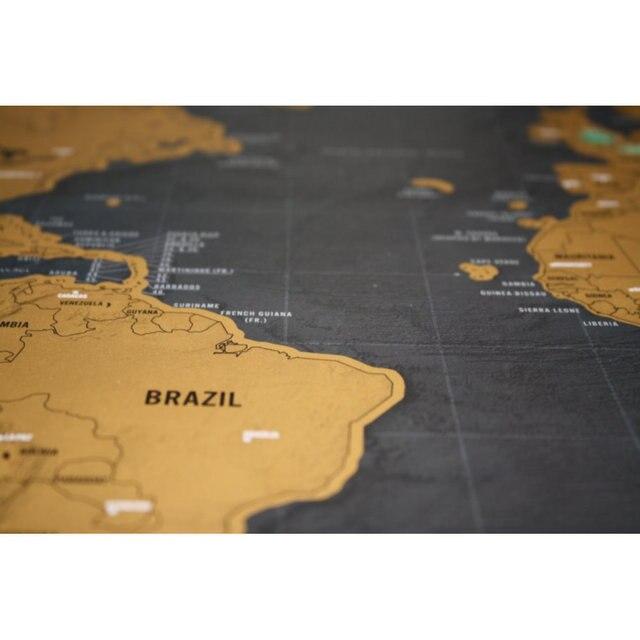 Stieracia Mapa Svet Deluxe 3