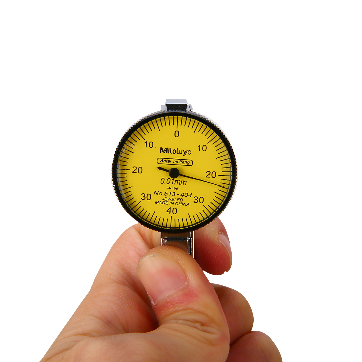 Portable Mini Lever Dial Gauge Test 0 01mm Resolution Indicator Precision Metric with Dovetail Rails 0 40 0 Measure Tool in Dial Indicators from Tools