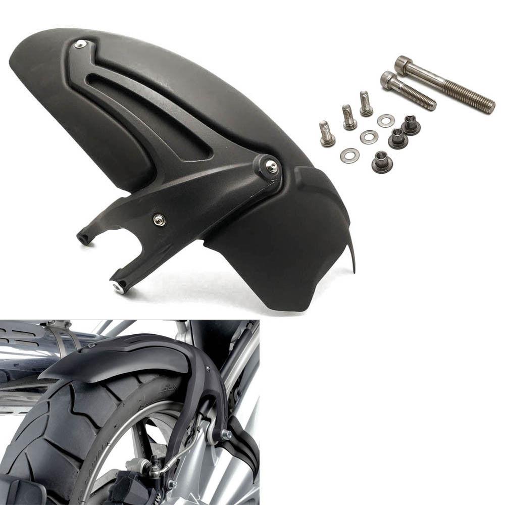 Черный заднее крыло колес Hugger Крыло колес Hugger брызговик для 2008 2009 2010 2011 2012 BMW R1200GS Приключения аксессуары