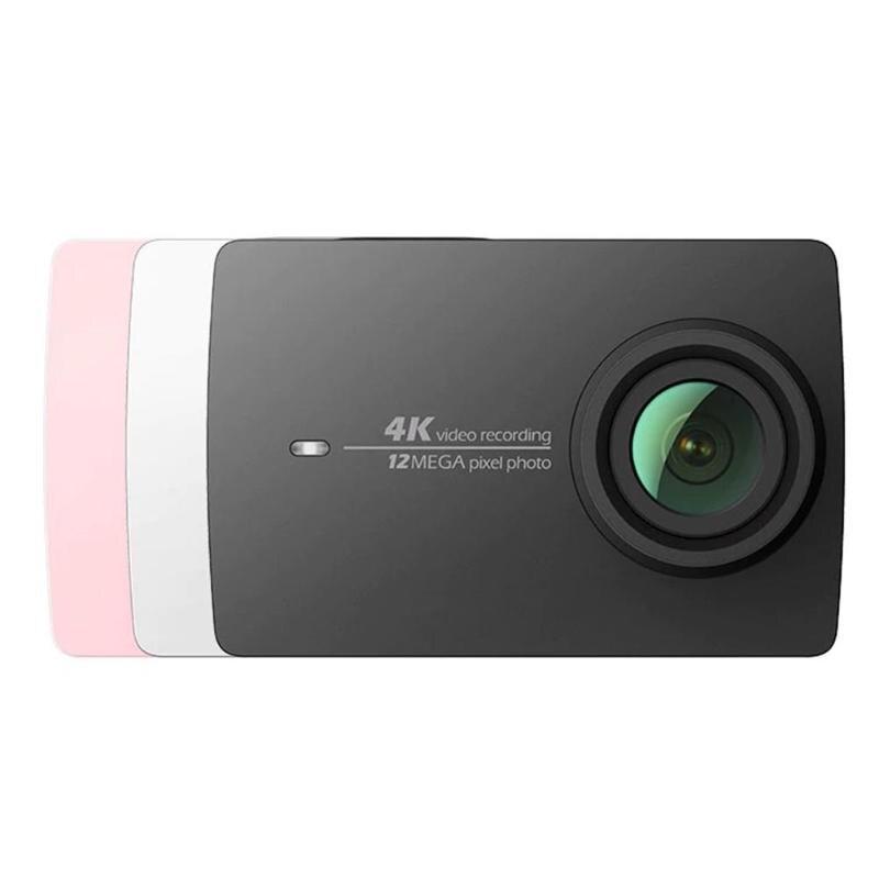 Xiaomi YI 4 K caméra d'action Ambarella A9SE75 sport Mini caméra bras 12MP CMOS 2.19in 155 degrés écran tactile