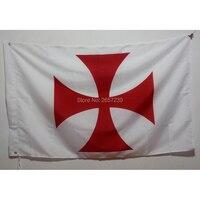 Масонская эмблема на храмовник ФЛАГ 150X90 см баннер 3x5 футов полиэстер 100D латунные прокладки пользовательский Печатный флаг, бесплатная дост...