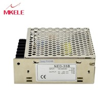 Originele Mean Goed NED-35A 35W Dual Output Switching Power Supply 5 V/12VDC 2 Poort Uitgang Voeding 100-240Vac Input [freeshiping 1pcs] mean well original rpd 60b meanwell rpd 60 53 5w dual output medical type switching power supply