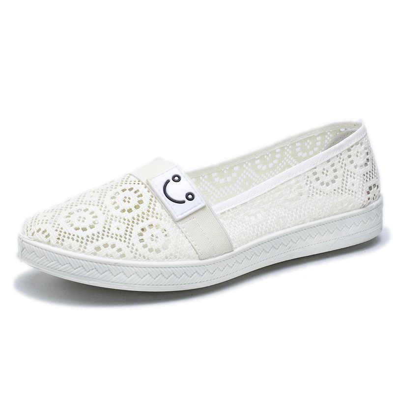 UPUPER の夏は、女性のための靴女性カジュアルレディースシューズデザインバレエローファーの靴女性