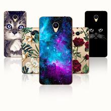 """Fanatu 5.2"""" Meizu M5 M611H Case Silicone Phone Cover Meizu M5 MINI Back TPU Protector Meizu M5 Pime M 5 Painting Soft Fundas"""