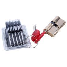 ELEG-65 мм 32,5/32,5 баррель дверной замок с 7 ключ латунный цилиндр