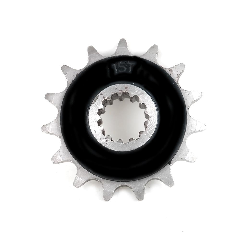 525-15T Motorcycle Spare Parts Front Sprocket For Honda CB400 CB-1 CBR400 VFR400 RVF400 CB500 CBF500 525 45T #d