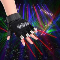 Kaigelin 1Pcs Red Laser Gloves Dancing Stage Show Light With 4 pcs Lasers LED Palm Light For DJ Club/Party/Bars EU/US Plug