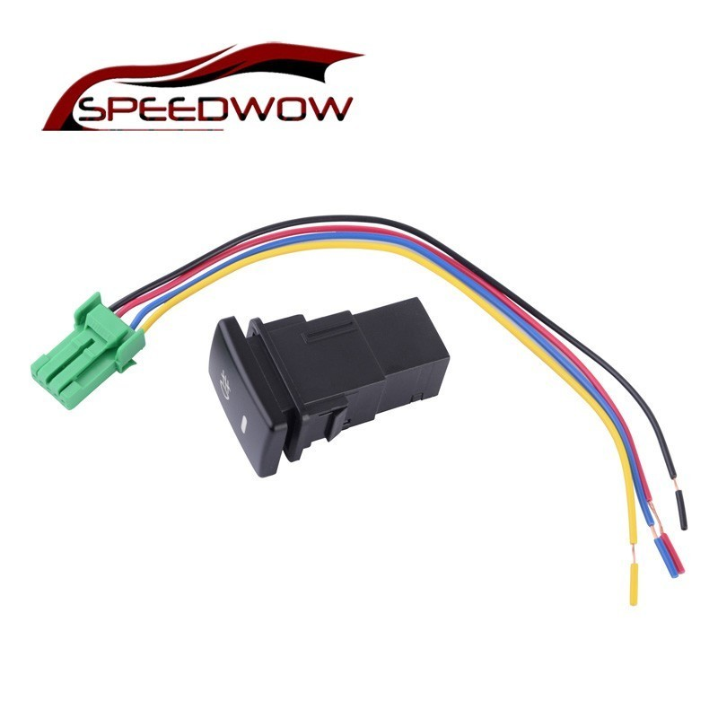 Speedwow Car Part Front Fog Lamp Switch With Cable Car