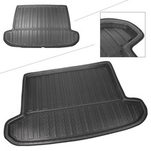 Rear Trunk Cargo Liner Boot Mat Floor Tray Carpet Mud Protector Cover For All-New Tucson 2016 2017 2018 (TL) Automobile Accesory for audi q5 rear trunk cargo liner boot mat floor tray carpet mud kick protector cover 2010 2016 automobile parts accessories