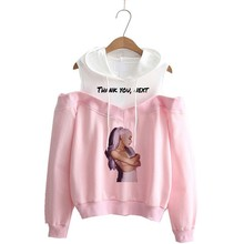 Ariana Grande Sweatshirt No Tears Left To Cry Hoodie Women C
