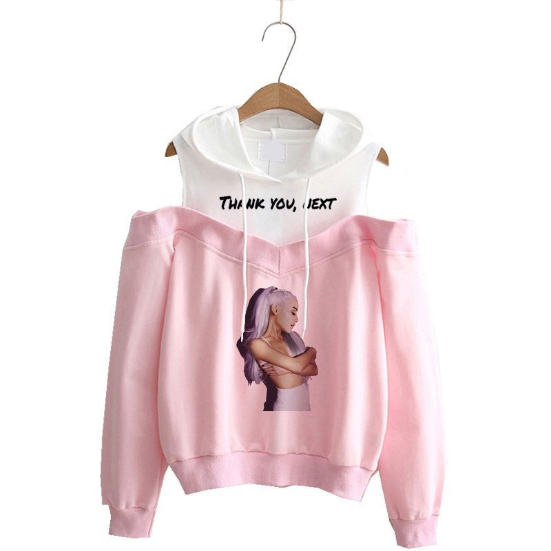 Ariana Grande Sweatshirt No Tears Left To Cry Hoodie Women Cartoon Print God Is A Woman Harajuku Sweatshirts Warm Tops Pullover
