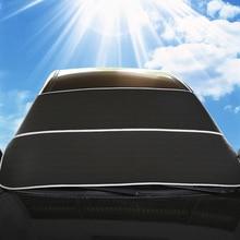 Car Windshield Sun Shade Snow Proof Covers Universal For Sedan SUV MPV Anti-UV Waterproof Auto Window Protector 3 Colours hansa fcgx62020 плита газовая