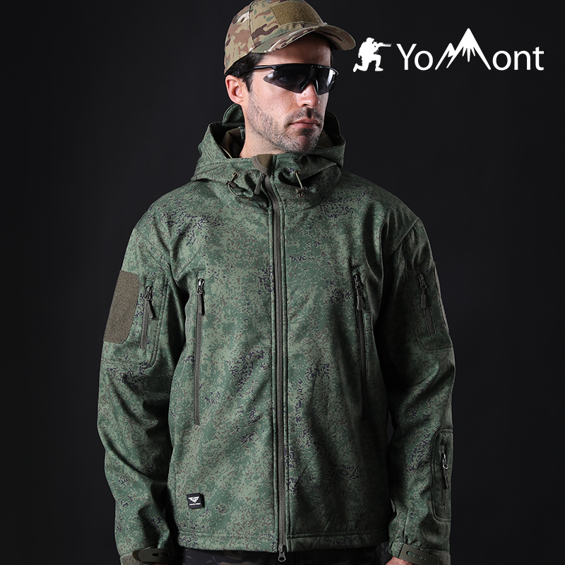 Yomont Outside Softshell Jacket Males Navy Waterproof Tactical Jackets Looking Garments Fishing Mountaineering Jacket Male Winter Coat