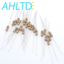 1000pcs 470 Ohm Resistors 1/4W Ideal for DC 12V LEDs 470R 5% Autobon Film resistor цена