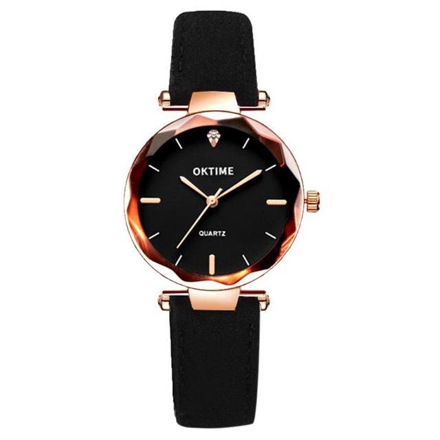 Waterproof Casual Ladies Quartz Clock Wristwatches Clock Luxury Women Bracelet W