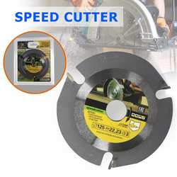 125 мм Multi-functional карбидная циркулярная пила Лезвие режущий диск для резки древесины Точильщик колеса шлифовальный инструмент