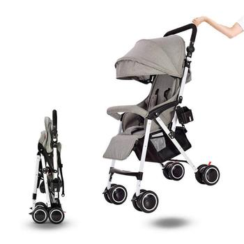 Kidlove Baby Stroller Folding Portable Baby Umbrella Cart Lightweight can sit reclining Travelling Pram Children Pushchair