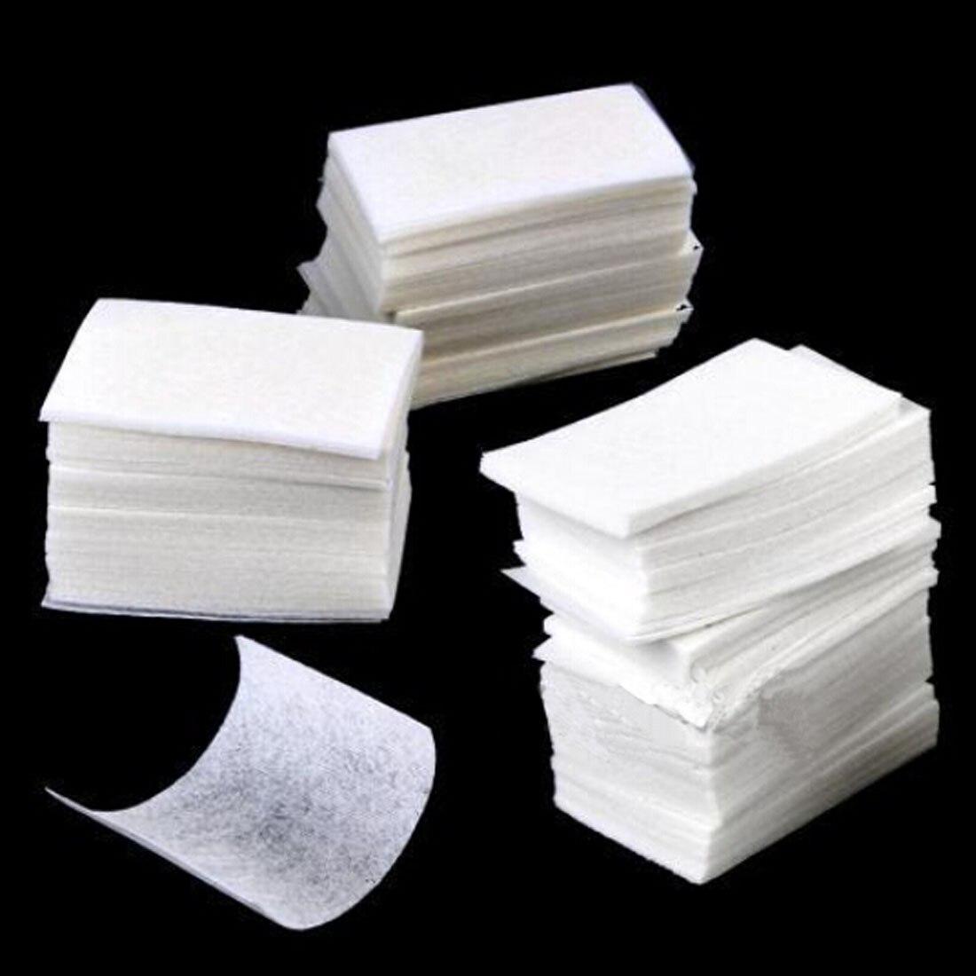 380pcs/set Women Nail Art Remover Manicure Polish Gel Wipes Cotton Lint Cotton Pads Paper Acrylic Gel Tips